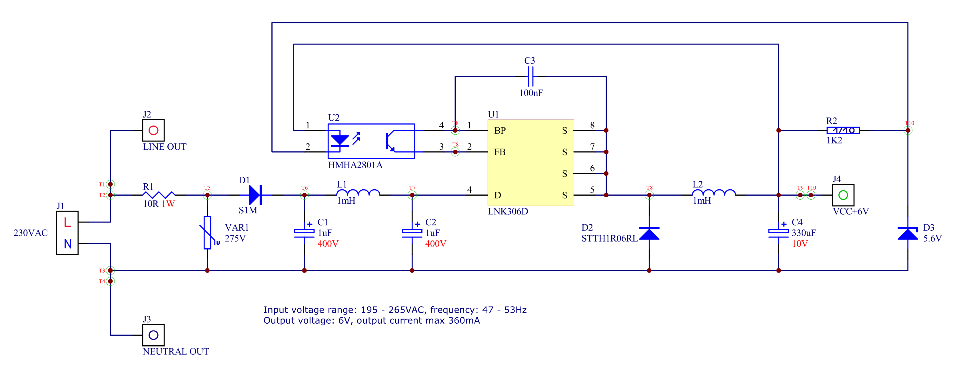 Mc34063 Led driver boost Circuit
