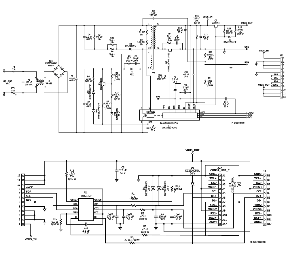 Design Examples Power Integrations Ac Dc Converters Mq 6 Circuit Diagram