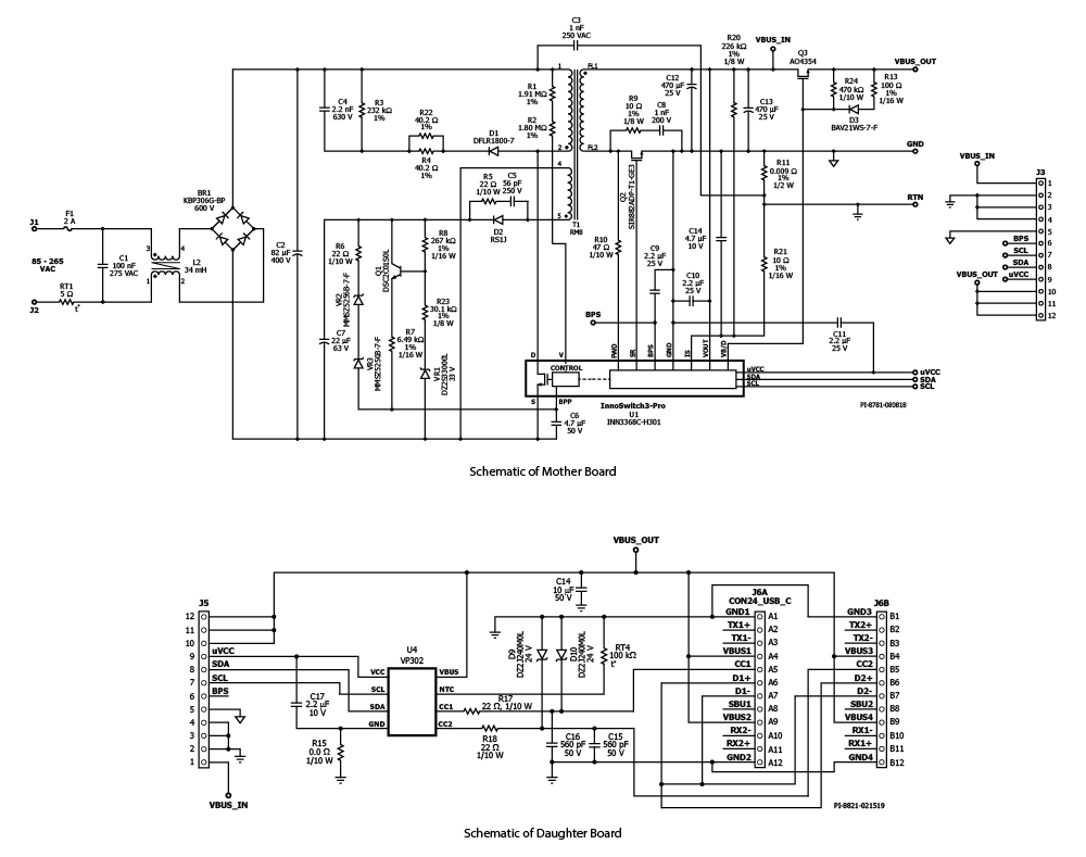 Design Examples Power Integrations Ac Dc Converters 24vdc Transformer Wiring Diagram
