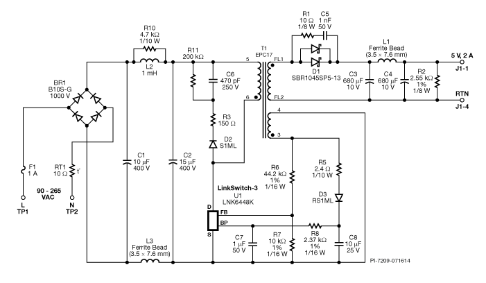 der-403 - 10 w cv  cc charger
