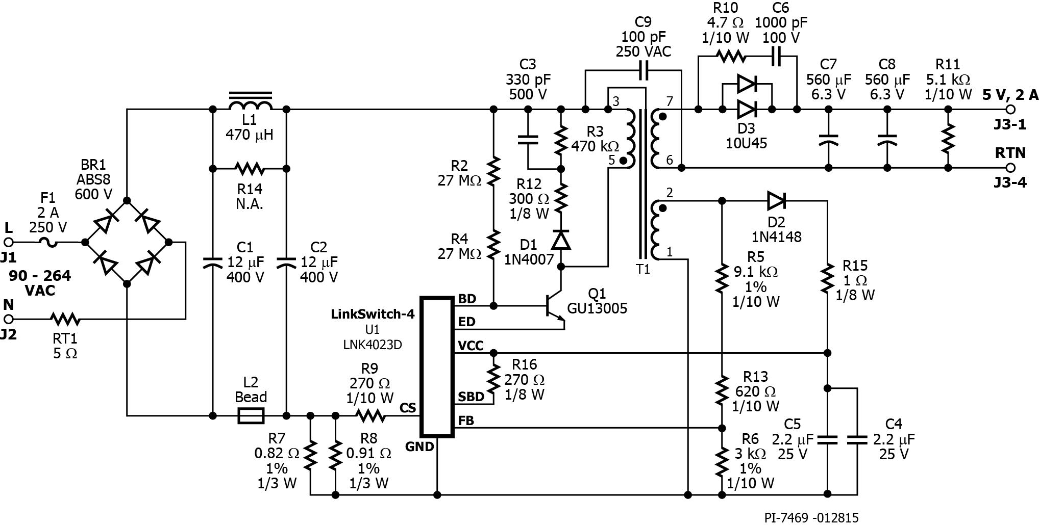 rdr-462 - 10 w cv  cc usb charger