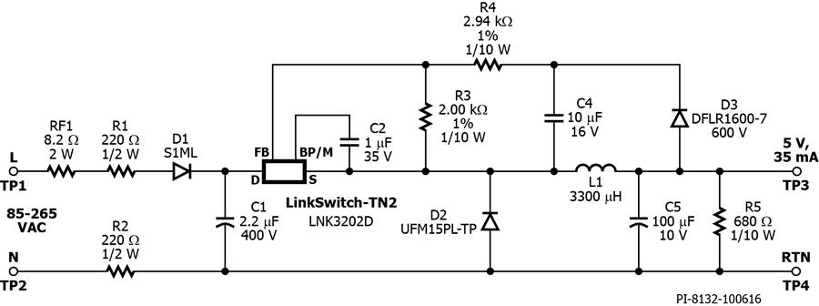 Der 507 175 Mw Constant Voltage Universal Input Non