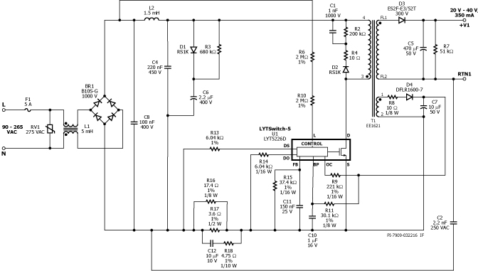 led design examples power integrations led drivers rh led driver power com